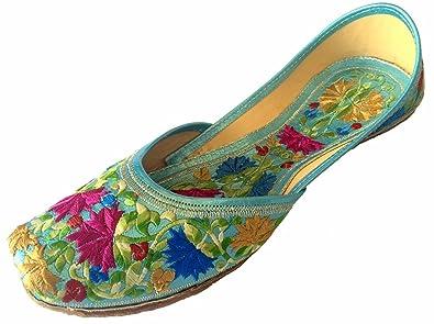 Schritt N Style Leder Damen Ballett jutti Schuhe, mehrfarbig - Größe: 38.5