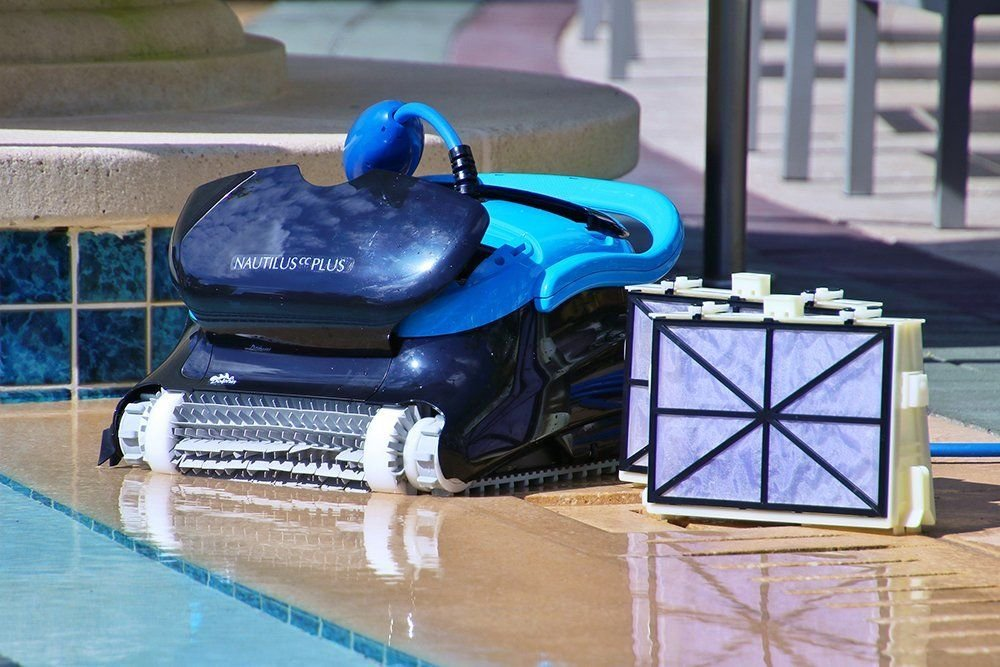 Dolphin Nautilus CC Plus Best Robotic Pool Cleaner