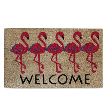 A1 Home Collections Flamingo Welcome PVC Tufted Designer Doormat  sc 1 st  Amazon.com & Amazon.com: A1 Home Collections Flamingo Welcome PVC Tufted Designer ...