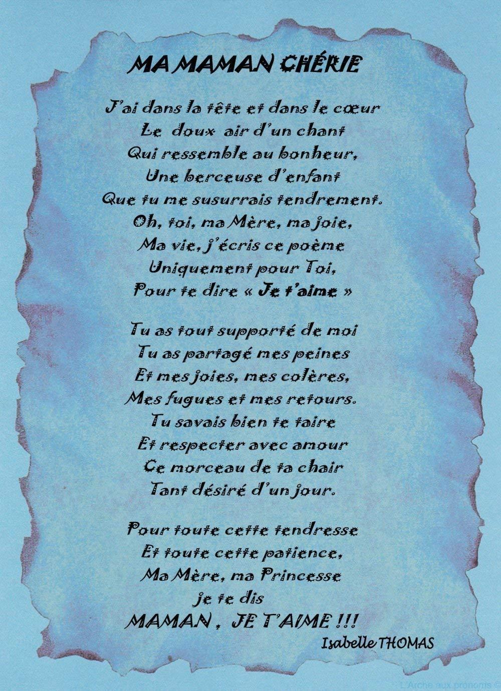Proverbe Damour Pour Sa Maman Poeme Damour Pour Sa Maman