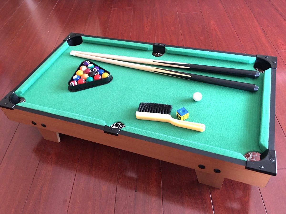 Tabletop miniature billard pool table game gag gift fun at work school kids ebay - Best billiard table manufacturers ...