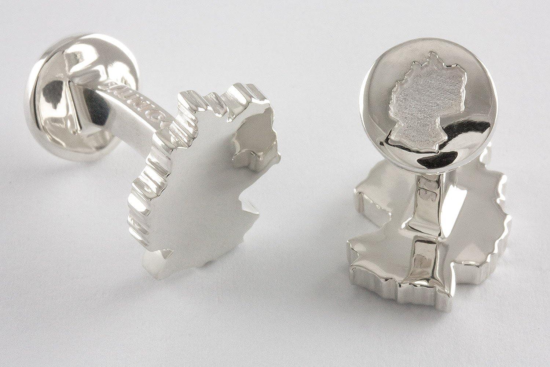 ZAUNICK Germany Cufflinks Sterling Silver Handcrafted