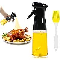 Pulverizador de aceite de oliva para cocinar 210 ml de calidad alimentaria, PET sin BPA, versátil, dispensador de…