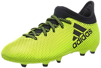 b770bc145d Amazon.com | adidas Kids Soccer X 17.3 Firm Boots Youth Boys Cleats ...