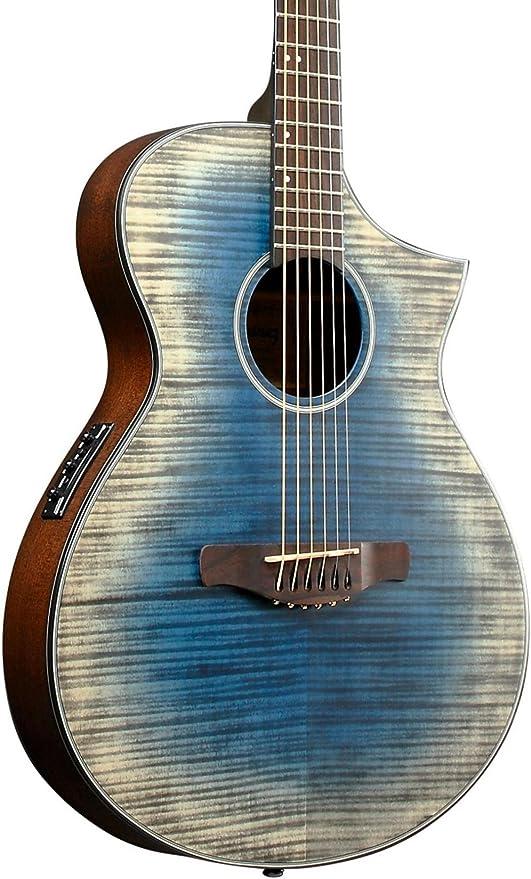 Ibanez AEWC32FM-GBL · Guitarra acústica: Amazon.es: Instrumentos ...