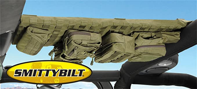 Smittybilt 5666024 GEAR Coyote Tan Overhead Console