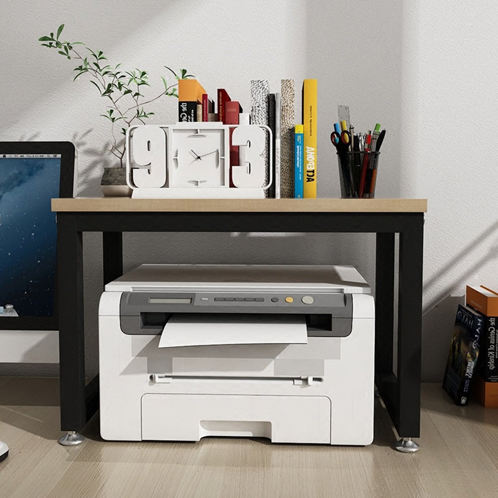 Aufbewahren & Ordnen BOBE Shop- Desktop-Mehrzweck-Lagerregal, Drucker-Rack, Scanner Rack, Telefonhalter, Bambus-Lagerregal, Bü ro Haushalt Lagerregal (Farbe : #1)