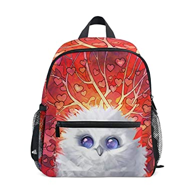 Amazon Com Zzkko Autumn Fall Cute Owl Kids Backpack School Book
