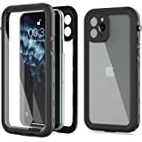 iPhone 11 Pro Waterproof Case,Built-in Screen Protector IP68 Waterproof Shockproof Dustproof Snowproof Full-Body Rugged…