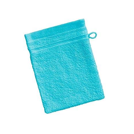 Barceló Hogar 05090020028 Manopla para baño, rizo americano, algodón 100%, turquesa,
