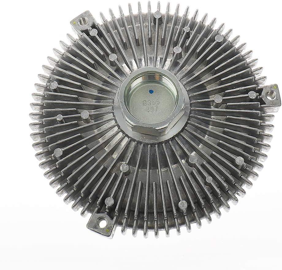 IRONTEK Engine Cooling Fan Clutch fits 1998-2002 Mercedes-Benz ML320 3.2L, 2003 Mercedes-Benz ML320,2003-2005 Mercedes-Benz ML350 3.7L Radiator Fan Clutch 1122000222
