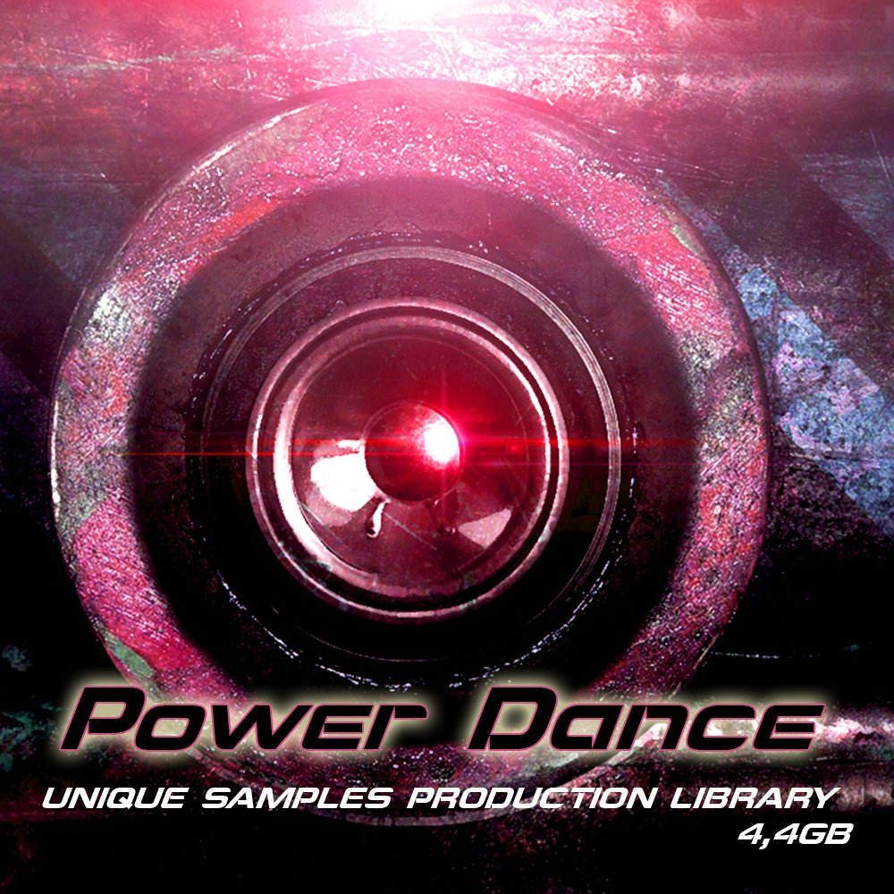 POWER DANCE - Large unique Sound Production Library 4.4GB Wave Samples on DVD or download by SoundLoad