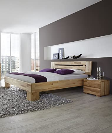 Dreams4home Massivholzbett Lyon Massivholzbett Bett Massivholz