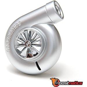 Boostnatics Spinning Turbo Air Freshener Silver - Jet Ice