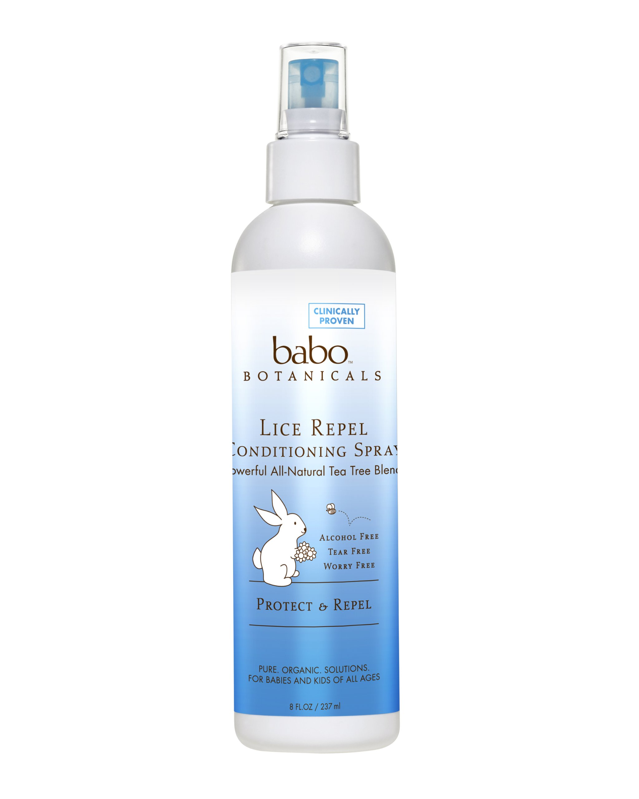Babo Botanicals Lice Repel Conditioning Spray Rosemary - 8 Fl Oz