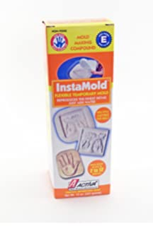 Activa Instamold Temporary Mold Making Compound, 48-Ounce, White