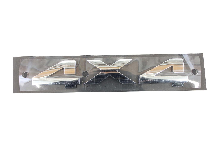 Chrysler Genuine Accessories 55077299AA 4X4 Emblem