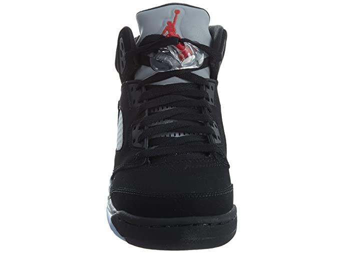new styles 1dc3c a6384 Amazon.com   Jordan Kids  Nike Air 5 Retro Og Bg Lack Silver 845036-003    Basketball