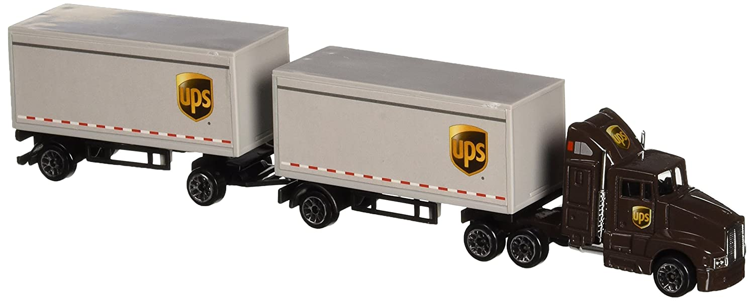 Daron UPS Die Cast Tractor with 2 Trailers Daron World wide Trading Inc. RT4345