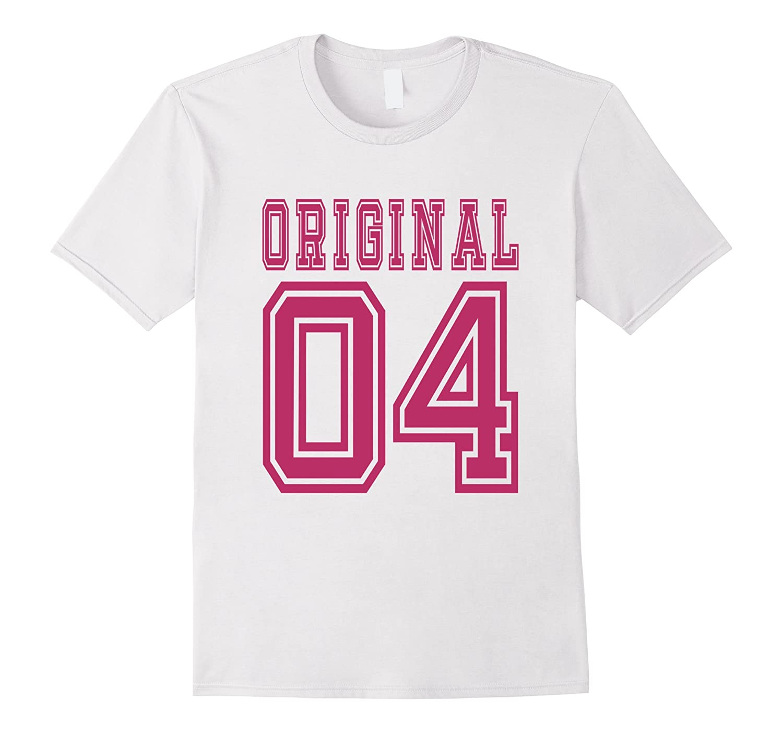 2004 T Shirt 13th Birthday Gift 13 Year Old Girl B Day Cute Pl