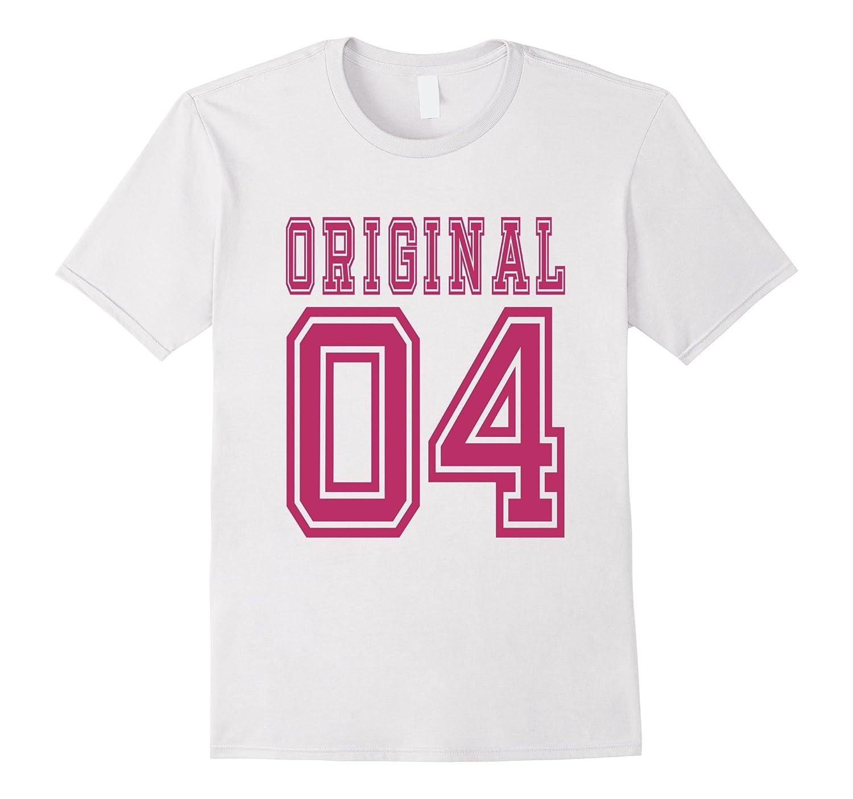 2004 T Shirt 13th Birthday Gift 13 Year Old Girl B Day Cute