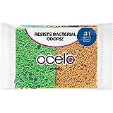O-Cel-O Cellulose Sponges, Assorted Colors 4 ea