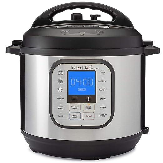 Best Electric Pressure Cooker 2020.Instant Pot Duo Nova 7 In 1 Electric Pressure Cooker Slow Cooker Rice Cooker Steamer Saute Yogurt Maker And Warmer 6 Quart Easy Seal Lid 14