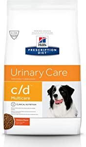 Hill's Prescription Diet Dry Dog Food, Veterinary Diet, c/d Multicare Urinary Care, Chicken