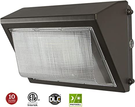 90 Degree 60W LED Wall Pack Light,MeanWell Driver,5000K,100-277VAC,ETL//DLC