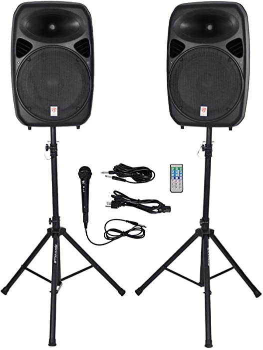 Top 10 Rockville 15'Full Range Speaker