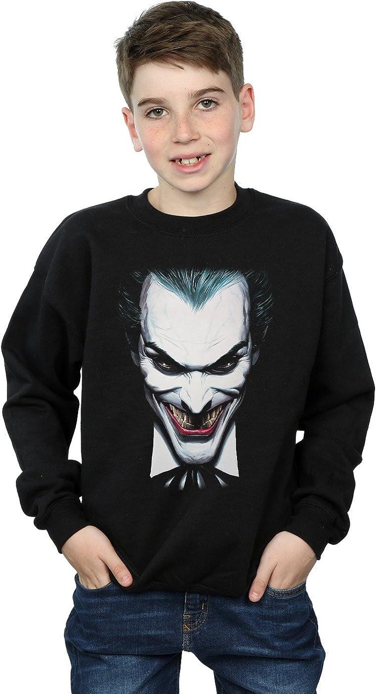 DC Comics Niños The Joker by Alex Ross Camisa De Entrenamiento: Amazon.es: Ropa y accesorios