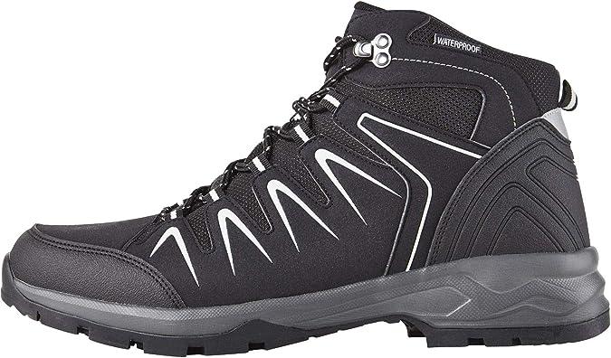 Crivit Outdoor - Botas de Senderismo para Hombre, Color Negro, Talla 45 EU: Amazon.es: Zapatos y complementos