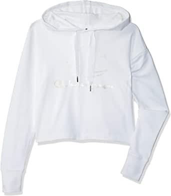 Champion Womens 111280 WW001WHT Hooded Sweatshirt 111280 WW001WHT