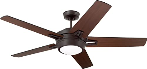 Emerson Ceiling Fans CF4900ORB Southtowne Modern Ceiling Fan With Light And Wall Control, 54-Inch Blades, Oil Rubbed Bronze Finish