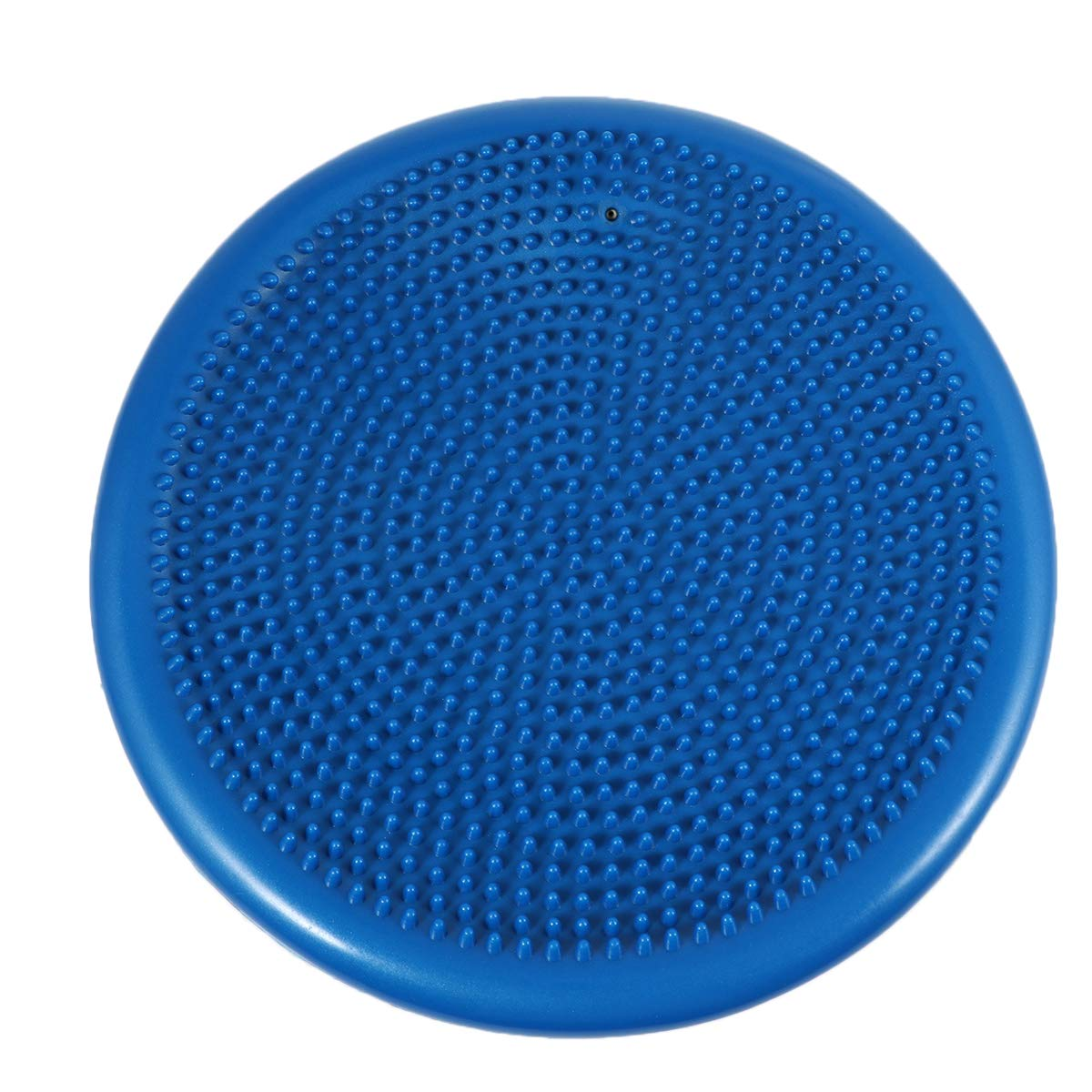 BESPORTBLE Inflated Stability Wobble Cushion Balance Disc Lumbar Support for Home Office Desk Chair Kids Alternative Classroom Sensory Wiggle Seat Blue