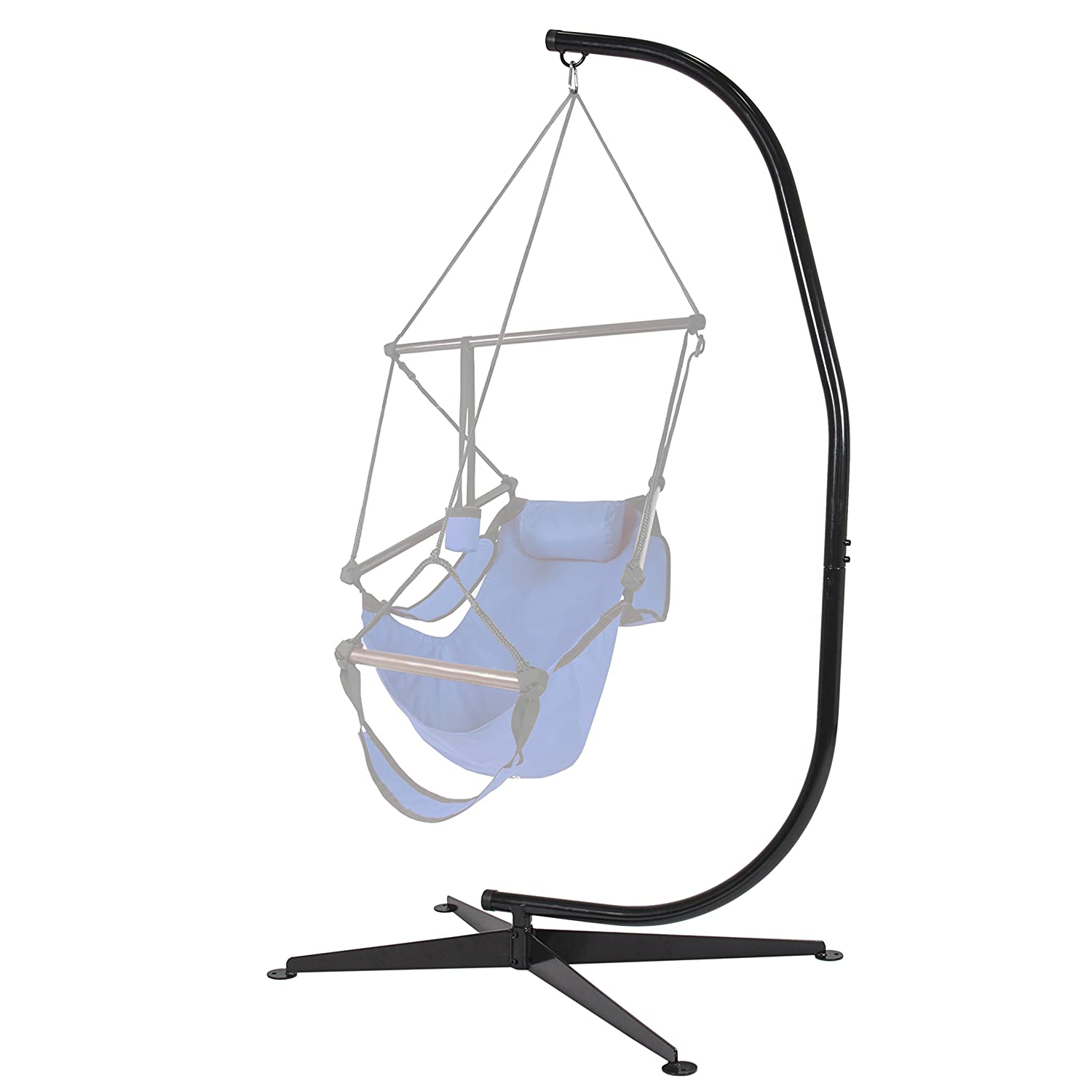 Best Choice Products Hammock C Stand Solid Steel Construction Hammock Air Porch Swing Chair New