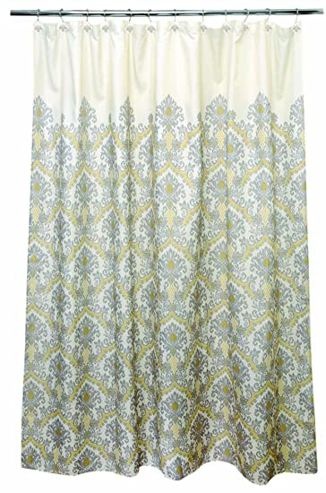 Amazon WAVERLY Bedazzled 100 Percent Polyester Shower Curtain