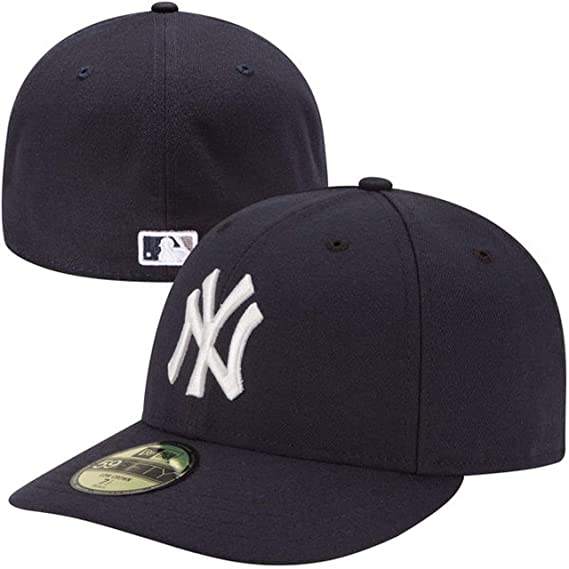 2d2305b8994 New Era Men Caps Fitted Cap Authentic Performance Low Crown NY Yankees   Amazon.co.uk  Clothing