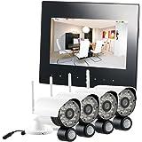 VisorTech Funkkamera Set: Digitales Überwachungssystem DSC-720.mc mit 4 HD-Kameras, IP (Ip Funk Überwachungssysteme)