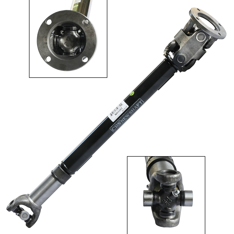 CRS N93391 New Prop shaft/ Drive Shaft Assembly, Front, for Chevy Blazer/ K5 Blazer/ K1500/ K2500/ V1500/ V2500 (Suburban), GMC Jimmy/ V2500/ V1500 (Suburban)