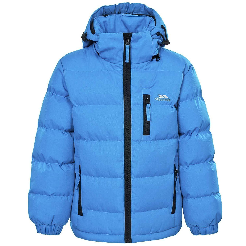 29160fdb80415 Trespass - Tuff - Veste à capuche détachable - Garçon  Trespass  Amazon.fr   Vêtements et accessoires
