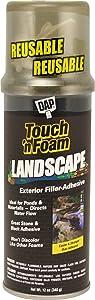 Dap 40440 12 oz. Touch 'n Foam Landscape Exterior Filler Adhesive, Black