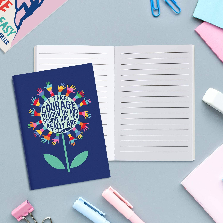 """3.5 x 5/"""" Small Journal Stocking Stuffers for Kids 12 Journal Notebooks for Women and Kids Sweetzer /& Orange Inspirational Notebook Set Bible Journaling Supplies Teacher Supplies for Classroom"""