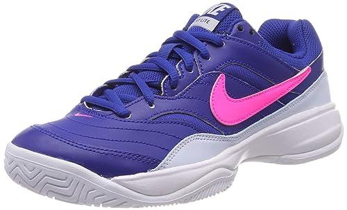 Nike Wmns Court Lite, Zapatillas de Tenis para Mujer, (Indigo Force/Pink Blast-Half Blue-White 464), 40 EU: Amazon.es: Zapatos y complementos