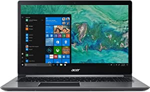 "Acer Swift 3 SF315-41G-R6MP Laptop, 15.6"" Full HD IPS Display, AMD Ryzen 7 2700U, AMD Radeon RX 540 Graphics, 8GB DDR4, 256GB SSD, Windows 10"