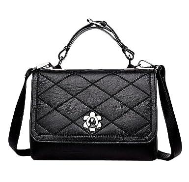Schultertasche Große Kapazität Handtasche Messenger Bag Große Tasche,Blue-OneSize GKKXUE