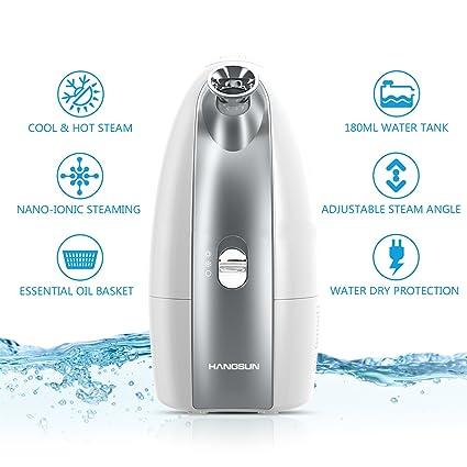 Hangsun Face Steamer Professional Cool and Hot Facial Mist Sprayer