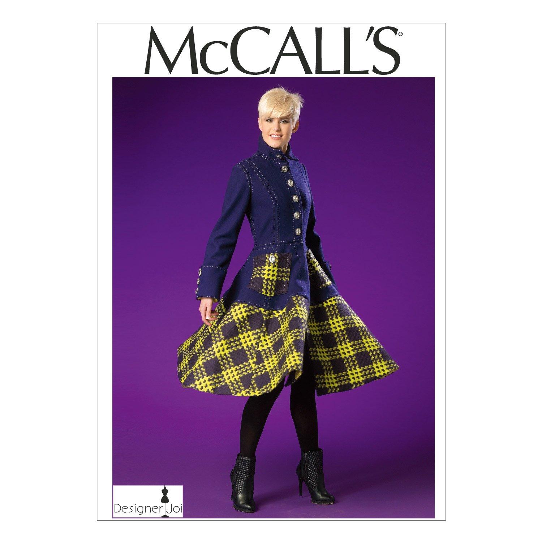 Amazon mccalls patterns m7025 misses coat a5 6 8 10 12 14 amazon mccalls patterns m7025 misses coat a5 6 8 10 12 14 arts crafts sewing jeuxipadfo Images