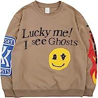 cpfm.xyz Lucky me I See Ghosts Sweatshirt Hip Hop Rapper Trui met ronde hals