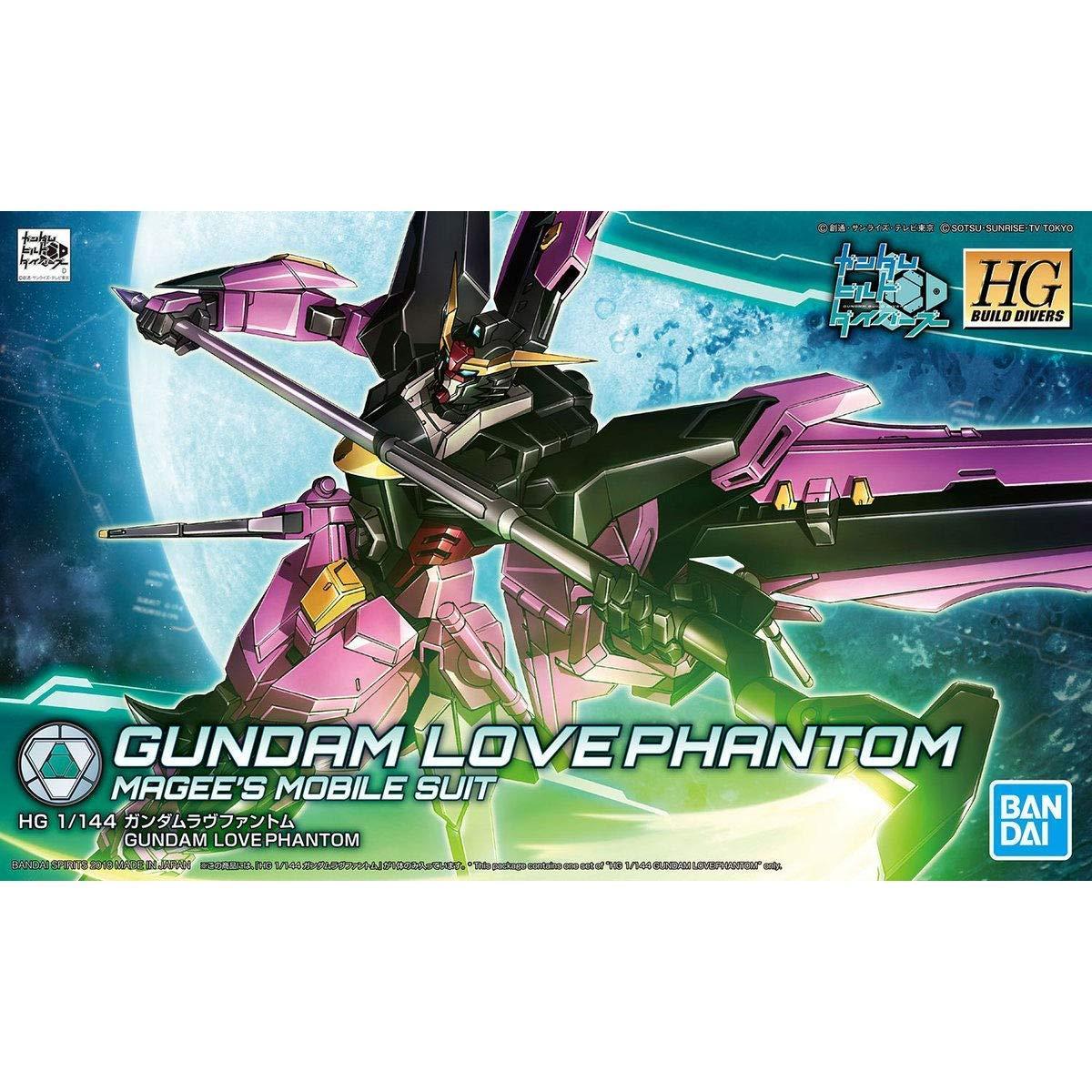 Bandai Hobby HGBD 1/144 Gundam Love Phantom ''Gundam Build Divers'' Model Kit